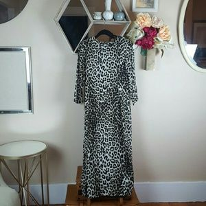 Rag & Bone New York | Sz 8 Leopard Silk  Dress